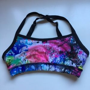 Colourful Sports Bra